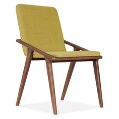 Cult Living Flight Upholstered Dining Chair in Olive | Cult Furniture UK