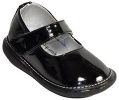 Wee Squeak Black Patent Plain Jane $29.95 http://www.meandmyfeet.com/product/PM1330%20BK #Black #Jane #Shoes #Kids #Toddler #Girls #Infant #Child