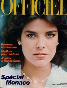 Princess Caroline of Monaco.June,1982.