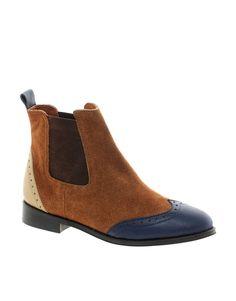 Park Lane Chocolate Flat Boots