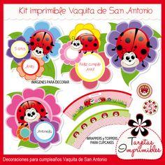 Kit imprimible Vaquitas de San Antonio, $60 en https://ofeliafeliz.com.ar