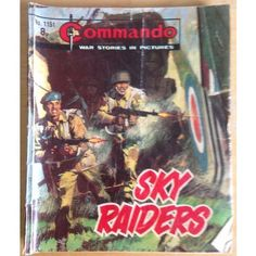 Commando Comic Picture Library #1151 War Action Adventure