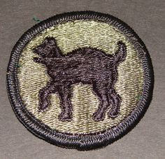 Wildcat Shoudler Patch WWII Era 81st Infantry Division Collectible to wear or us as a prop or just collect  http://www.rarevintagecollectibles.com