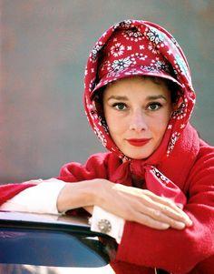 Audrey Hepburn photographed by Pierluigi Praturlon in Rome, Italy; March, 1961.