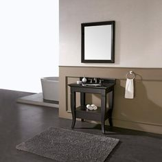 Avanity - Milano 30 Inch Vanity Only in Black Finish (Faucet not included) - MILANO-V30-BK - Home Depot Canada