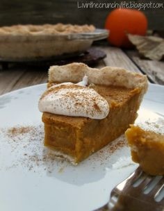 AIP Pumpkin Pie (Baked)