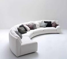 ben ben | arflex | Flickr Gebogenes Sofa, Sofas, Couch, Sofa Design, Furniture, Villa, Home Decor, Couches, Settee