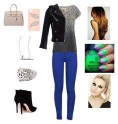 Hang out with Perrie by harrystylesandliampayne on Polyvore featuring polyvore, beauty, River Island, Adriana Orsini, IRO, Brave Soul and Gianvito Rossi