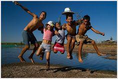 děti užívající si prázdniny by Libertinus, via Flickr