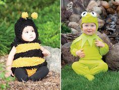 babykostüme fasching-Verkleidung modern Biene Maja-kermit