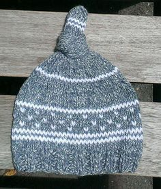 4d1ecf6ada4 grey baby knit hat grey knit beanie top knot by UniqueKnitDesign Winter Knit  Hats
