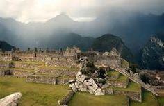 vimos las ruinas antiguas de Colombia