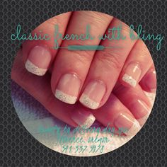 Classic French manicure. Natural nails. Perfect mani. Gel polish