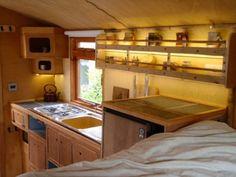 Was dieses Paar aus diesem Pick-up Truck machte, ist ein Traum für jeden wahren Camper! - DIY Bastelideen