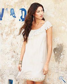 Chan Luu Silk Peasant Dress