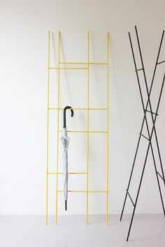 This is great - the two-ways Ladder rack by American designer Yenwen Tseng.