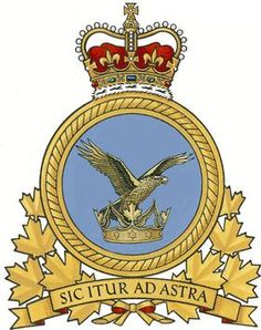 Badge of Canadian Air Command, replaced by new RCAF badge in 2013 Military Insignia, Military Art, Military History, Military Service, Raster To Vector, Aircraft Photos, Remembrance Day, Fighter Pilot, Search And Rescue
