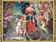 Oh María Inmaculada, dulce madre admirable y Embajadora de la paz y del amor que con bondad desatas nuestros nudos cuando nos ves apura...