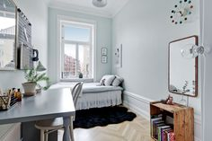 minimal boy's room