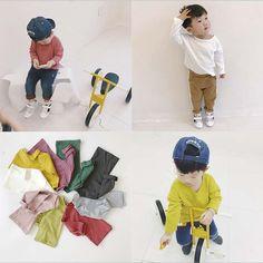 $8.40 (Buy here: https://alitems.com/g/1e8d114494ebda23ff8b16525dc3e8/?i=5&ulp=https%3A%2F%2Fwww.aliexpress.com%2Fitem%2Fnew-2017-baby-boys-girls-Slub-cotton-basic-T-shirts-long-sleeve-O-neck-kids-spring%2F32793839929.html ) new 2017 baby boys girls Slub cotton basic T-shirts long sleeve O-neck kids spring autumn top soft T shirts 1-5Y free shipping for just $8.40