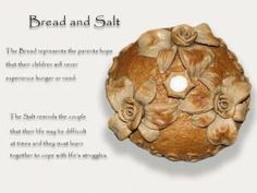 Bread & salt - Polish wedding tradition