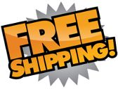 Free worldwide shipping on all our items including registered/recorded delivery!