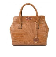 Cheap Michael Kors Bags & Handbags Embossed Large Brown Totes Outlet Online.