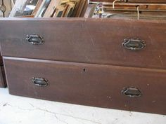 Do you have an old dresser that's seen better days? Ever peruse yard sale selections and see random drawers just sitting there? Well, did you ever imagine what you could do with them?