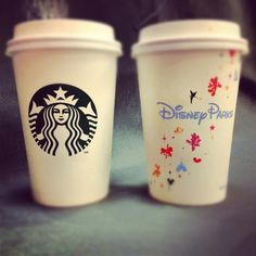 Starbucks Disney Parks authentic cups, yesss!!