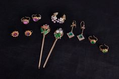 Art Nouveau Antique Chinese Hair Stick Pin 22k 'Spring' Chinese Hair, Chinese Takeaway, Colombian Emeralds, Spring Hairstyles, Stick Pins, Hair Sticks, Hair Ornaments, Stone Carving, Hair Jewelry