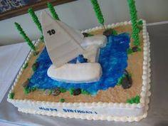 Catamaran Cake!