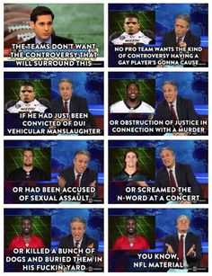 Jon Stewart Takes On Michael Sam Coming Out As Gay On 'The Daily Show' (VIDEO)