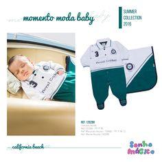 Moda Bebê | Moda Baby | Macacão | Look Para o Príncipe