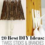 DIY ideas with Twigs