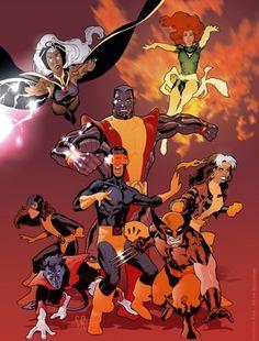 X-Men by Stephane Roux