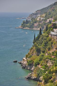 The Amalfi Coast near Salerno, Italy  Home sweet home. Soon, I'll be on this breath taking landscape.