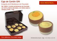 Pruebe nuestra deliciosa naranja y limón relleno con sabor a chocolate. Griddle Pan, Relleno, Pudding, Desserts, Chocolate Candies, Unique Gifts, Bonbon, Orange, Candy