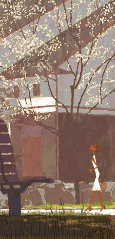 Tadahiro Uesugi Japanese Illustration, Illustration Art, Eagle Art, Animation Background, Art Programs, Japanese Artists, Great Artists, Illustrations Posters, Art Reference