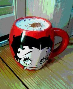 #morningcoffee #coffee #kawa #bettyboop