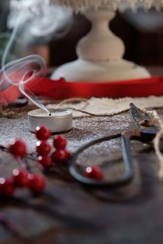 Cherry, Fruit, Christmas, House, Food, Xmas, Home, Essen, Navidad