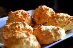 Homemade Pancake Batter Cheddar Cheese Biscuits