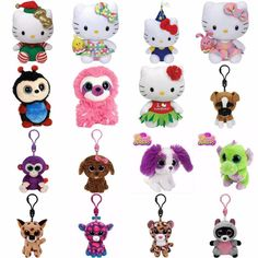 Ty Beanie Boo Clip or Ty Hello Kitty or Lit Sweet & Sassy 5 - Choose 2 or more