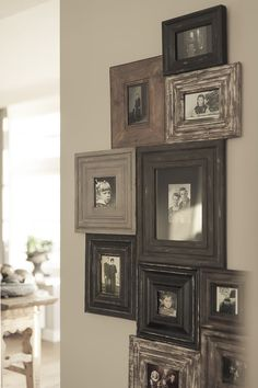 neat idea to put the frames close together