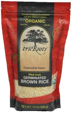 TruRoots germinated sprouted brown rice!