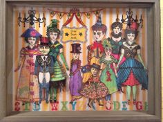 This is so awesome, I love it!  Cirque Theater by Shannon Benedetti