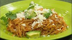 Mexican Sopa Seca De Fideo - While in Veracruz, Mexico a while ago, Chef Chris Koetke ordered this, thinking it was soup. He was surpised to discover a spicy pasta dish that has quickly become one of his favorites. RECIPE: http://livewelln.co/1aqPycg #Mexicanfood #recipe #food
