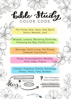 BIBLE STUDY HIGHLIGHTING SYSTEM + FREE PRINTABLES | Abiding Kelseyleigh on Patreon