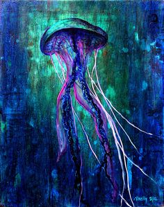 jellyfish painting | Flickr - Photo Sharing!