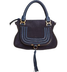 Main Image - Chloé 'Medium Marcie' Suede Satchel
