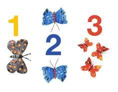 1,2,3 Butterflies by Sarah Millin